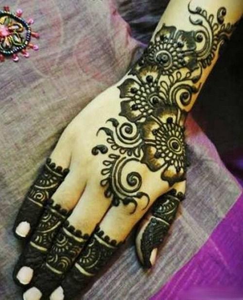Easy Thick Arabic Mehndi Designs Fashioneven