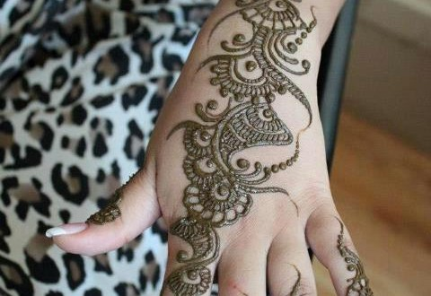 latest arabic mehndi designs for eid festival