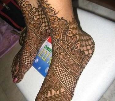 latest arabic mehndi designs for eid festival