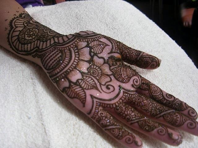 Mehndi Designs Hands Arabic Latest : Full hand arabic mehndi design for eid u fashioneven