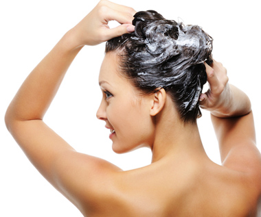 Wash hair gently for hair growth