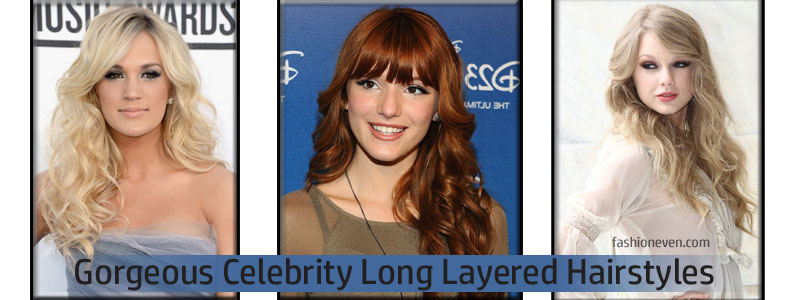 Gorgeous Celebrity Long Layered Hairstyles