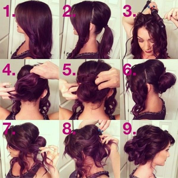 Вечерние прически на средние волосы как сделать самим