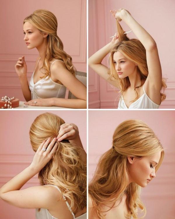 Как сделать начес на длинные волосы самой
