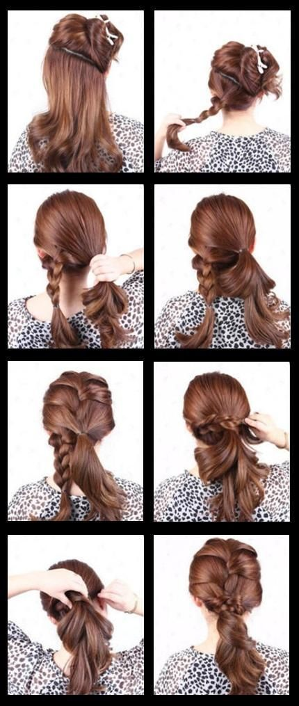 Prom Party Hair Tutorial Step By Guide 8