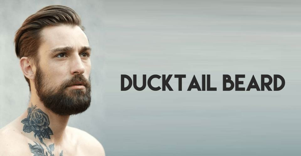 latest ducktail beard style 2017 2018 for men