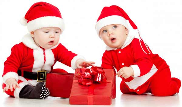 Cute Christmas dresses for toddler boy and girl