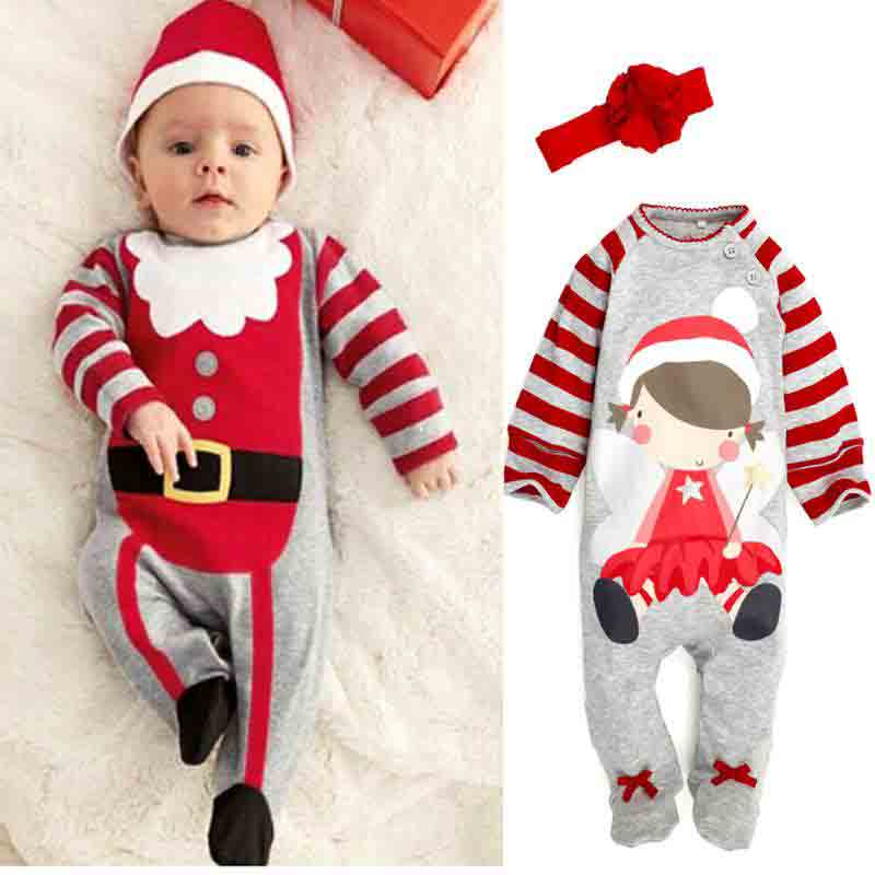 latest christmas rompers and pajamas for toddlers 2016