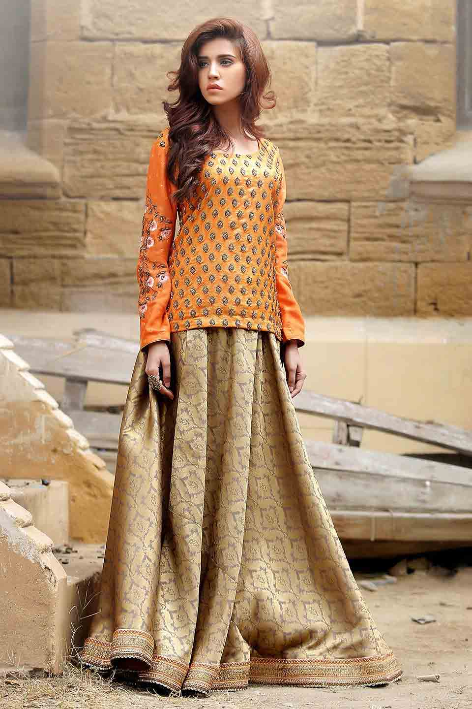 Pakistani Mehndi Dresses With Price For Bridals | FashionEven