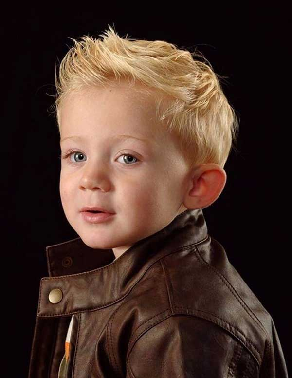 best Short hair spikes haircut trends for little boys 2017 2018