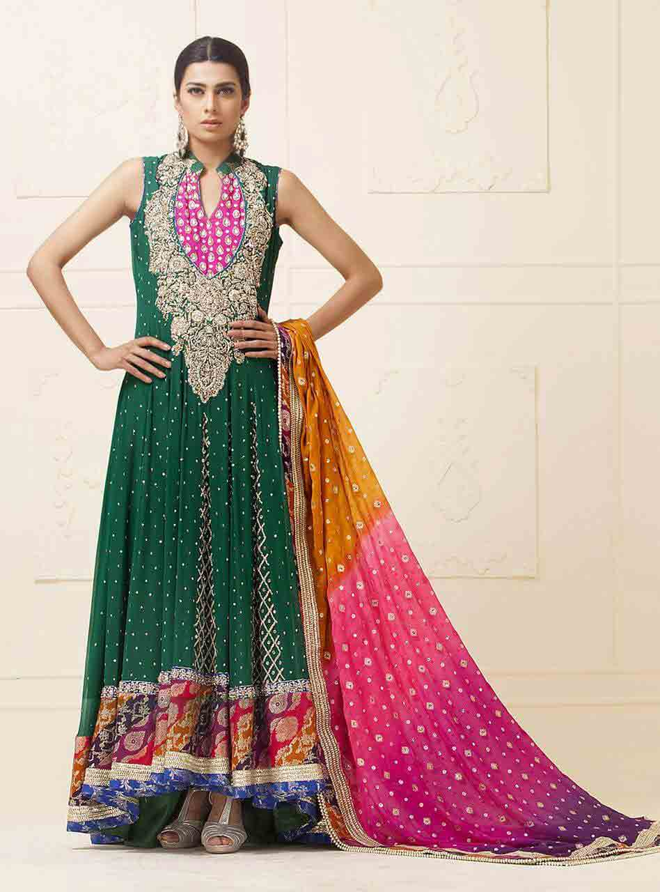Stani Designer Bridal Mehndi Dresses With Prices Dress For Brides