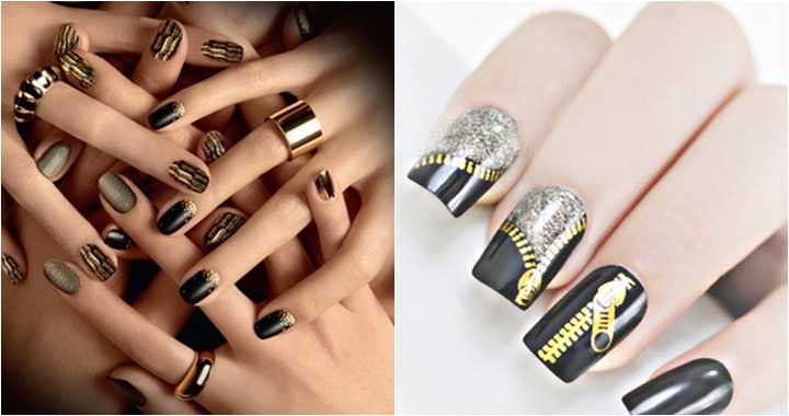 Latest New Year Nail Art Designs 2018 In Pakistan | FashionEven