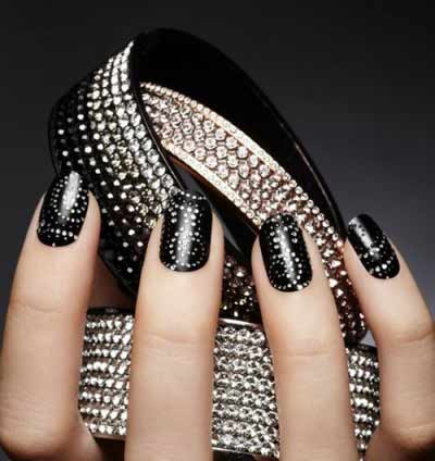 latest new year nail art designs 2019 in pakistan