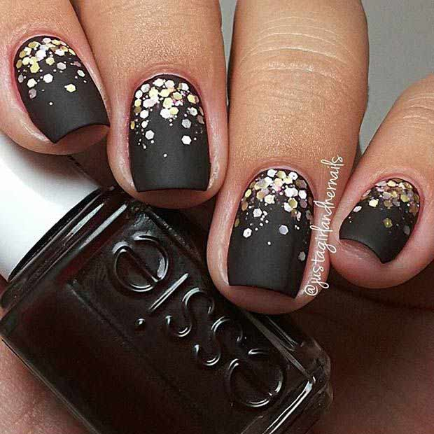 Latest new year nail art designs 2018 in pakistan fashioneven latest new year nail art designs prinsesfo Images