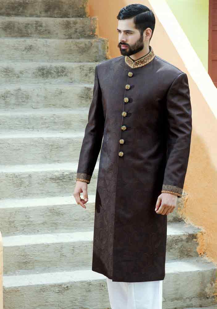 Groom Wedding Sherwani Designs For Mehndi 1 Fashioneven