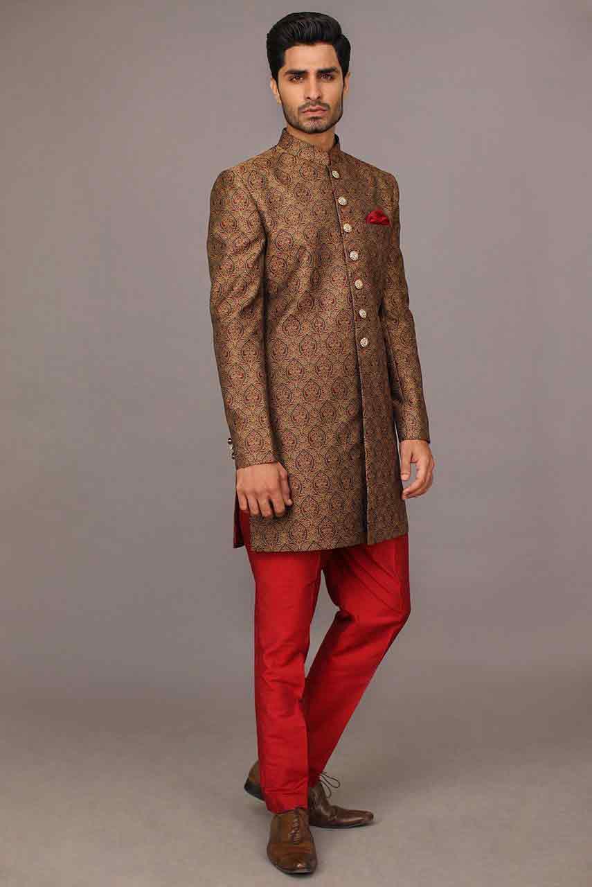 best pakistani groom wedding sherwani designs 2018 for mehndi