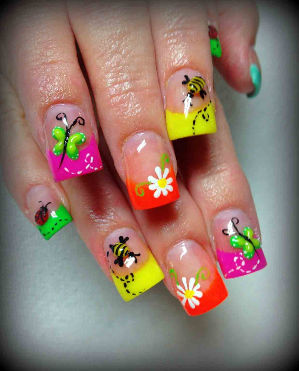 Teenage Nail Art: Best Teen Nail Art Designs 2019 Nail Paint Ideas