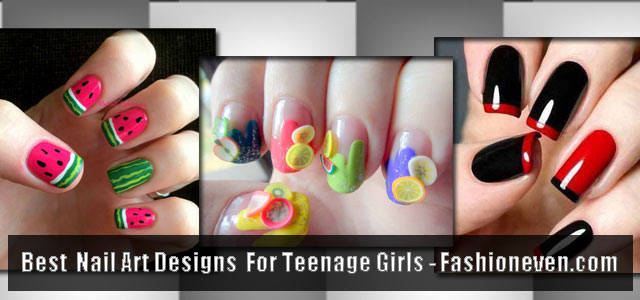 best teen nail art designs for teenage girls 2018