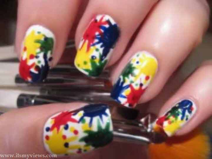 best teenager nail art designs, latest nail paint some ideas for teenage women