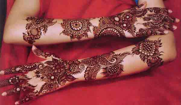 latest arabic bridal mehndi designs 2017 2018 for hands and arms