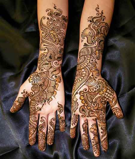 best arabic bridal mehndi designs 2017 2018 trends in pk
