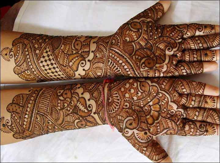 trendy bridal mehndi designs for full hands 2017 2018