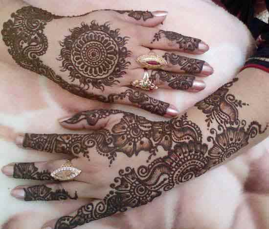 new styles of bridal mehndi designs 2017 2018 for hands