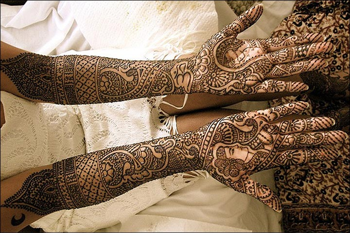 new full hands bridal mehndi designs 2017 2018 for wedding party