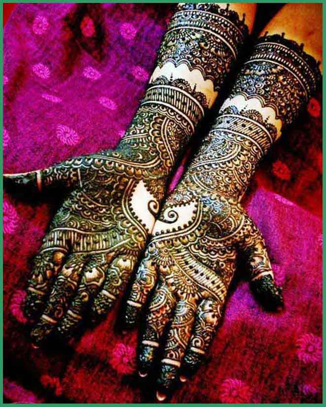 latest full hand bridal mehndi designs 2017 2018 collection