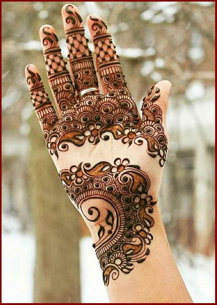 Mehndi Design New : Best bridal mehndi designs for wedding fashioneven