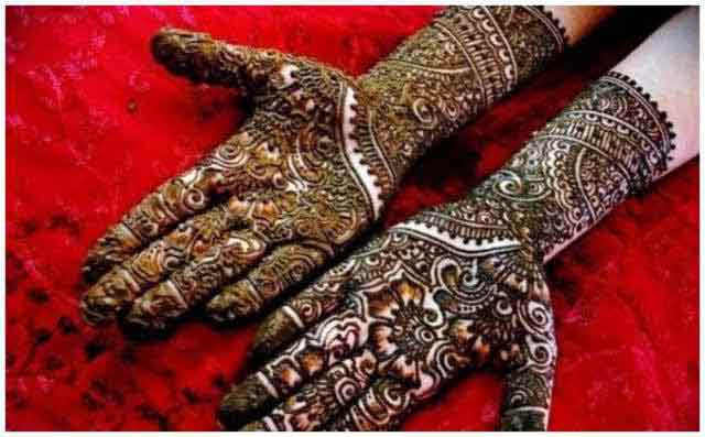 amazing bridal mehndi designs 2017 2018 for full hands front