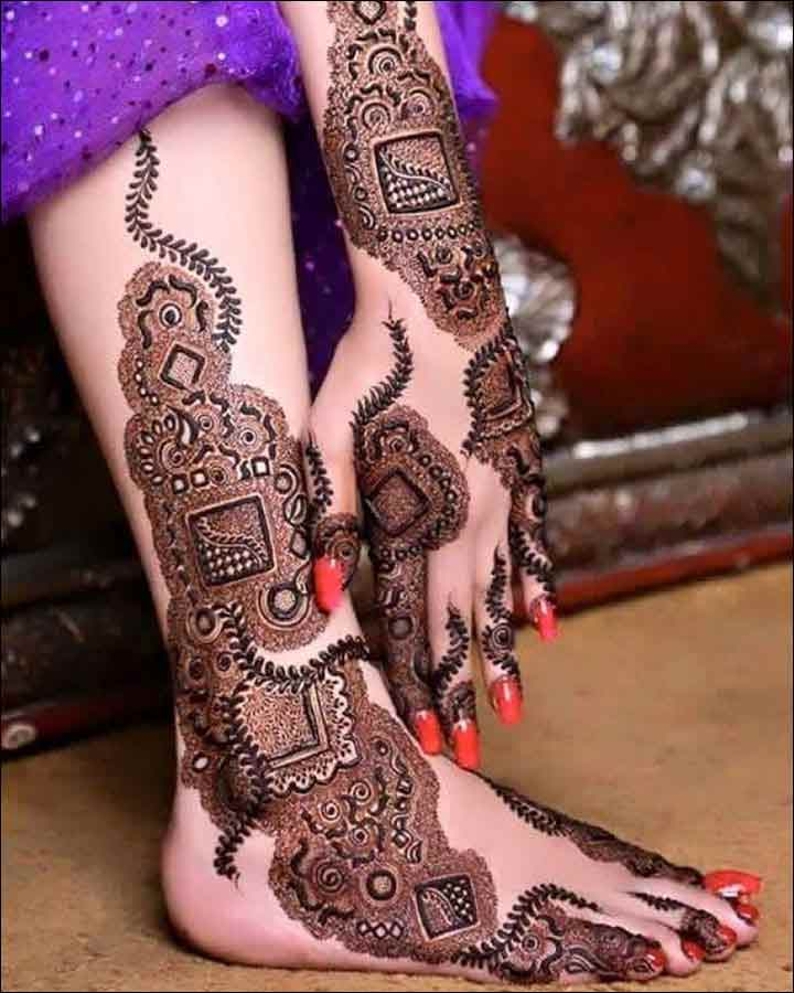 awesome bridal mehndi designs 2017 2018 for indian bridal