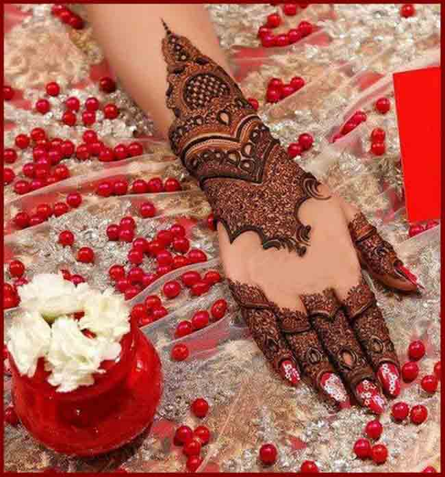 new bridal mehndi designs 2017 2018 trend in india