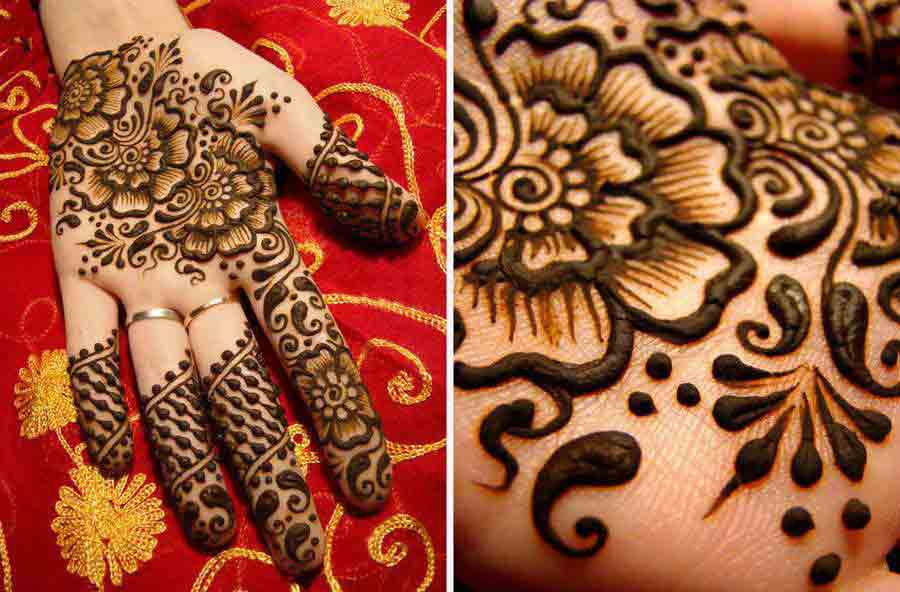 latest bridal mehndi designs 2017 2018 trend in pakistan