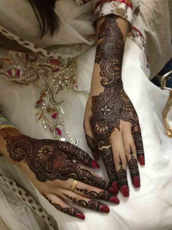 best arabic bridal mehndi designs 2017 2018