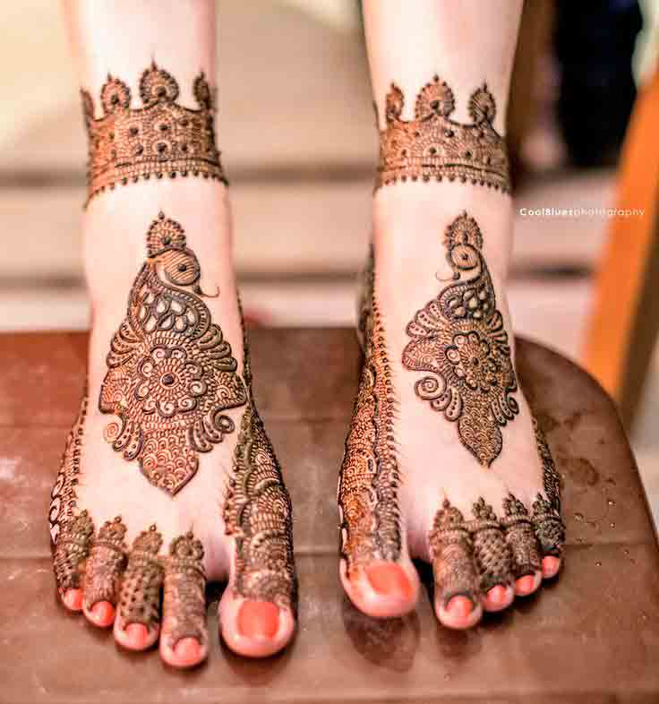 Mehndi Design Leg And Hand : Best bridal mehndi designs for wedding fashioneven