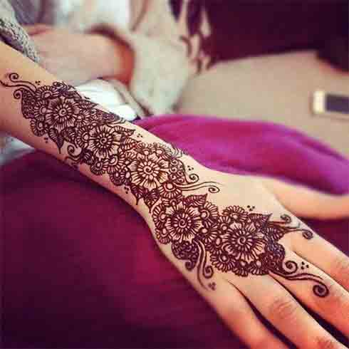 best new stylish bridal mehndi designs 2017 2018
