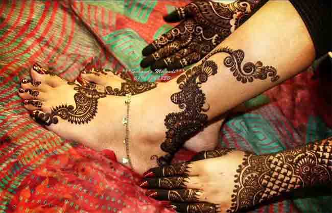 latest hands and feet bridal mehndi designs 2017 2018 trend in pakistan and india