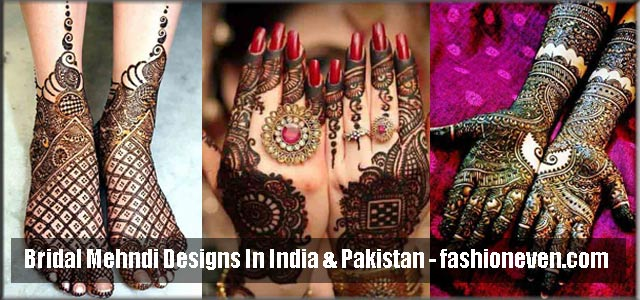 Best Bridal Mehndi Designs 2018 For Wedding