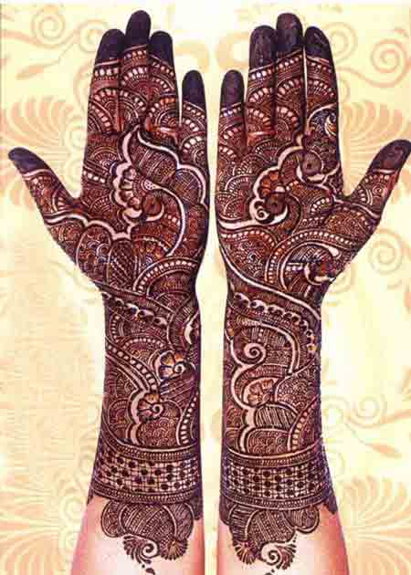 latest trends of bridal mehndi designs 2017 2018 in india pakistan