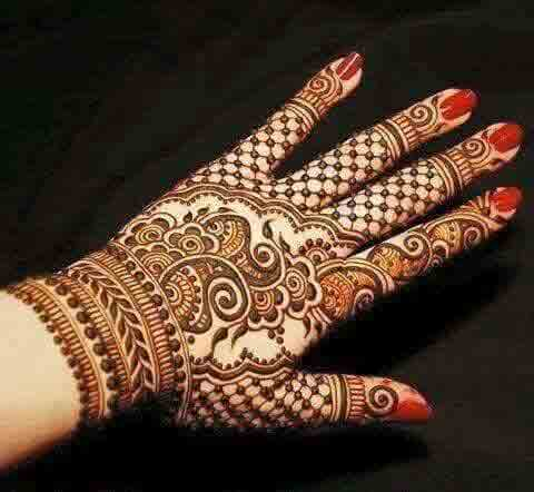 stylish indian bridal mehndi designs 2017 2018 for wedding brides