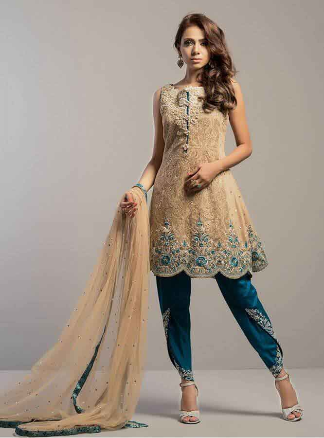 best mehndi short shirt and trouser designs 2017