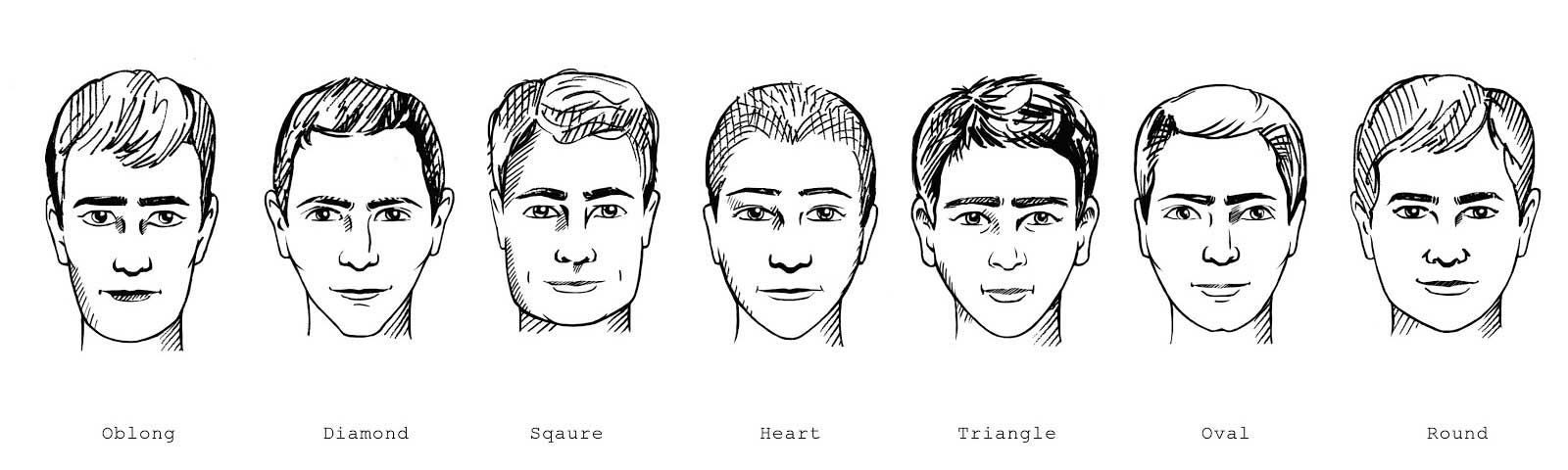 different types of face shape for the best summer shorthaircut