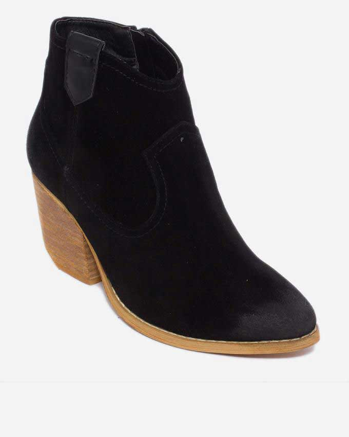 latest black ankle boots for women 2016