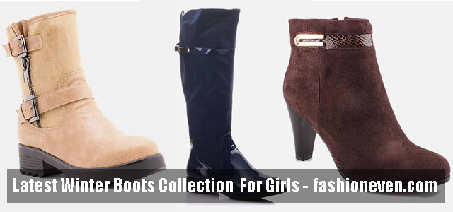 Latest Winter Boots For Pakistani Girls In 2020