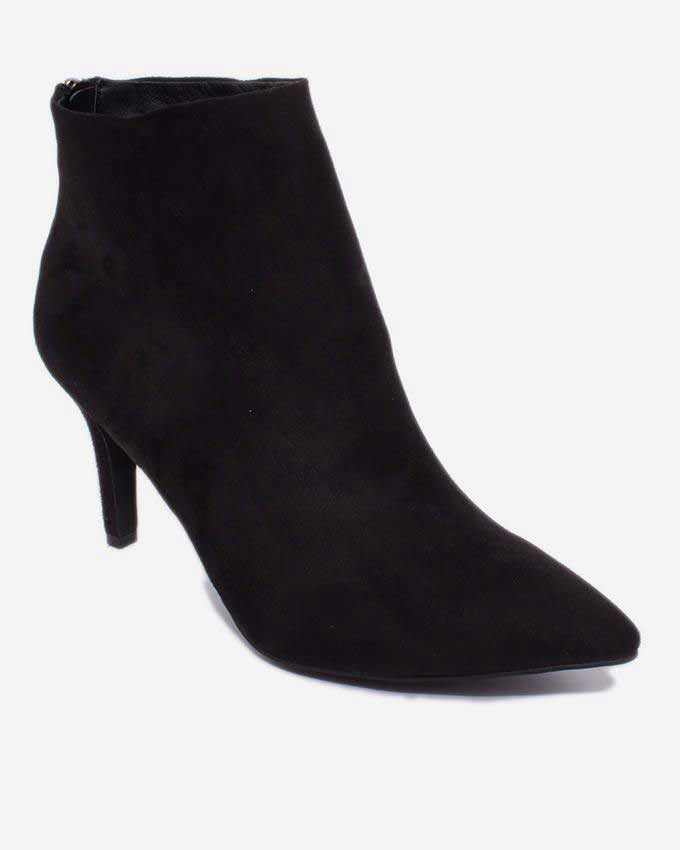 heel ankle boots for winter