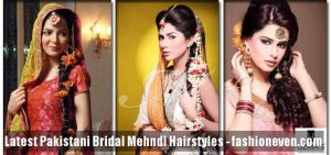 best mehndi hairstyles trend 2018 for wedding brides
