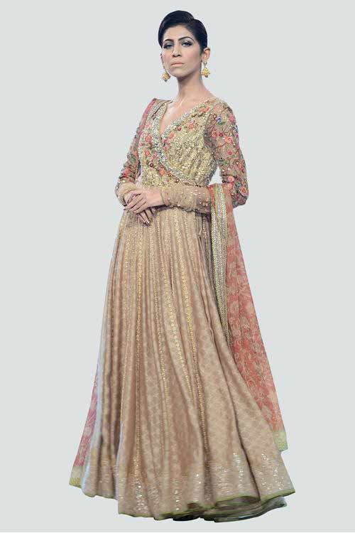 best ash latest bridal wedding lehenga dress designs 2017 for barat day