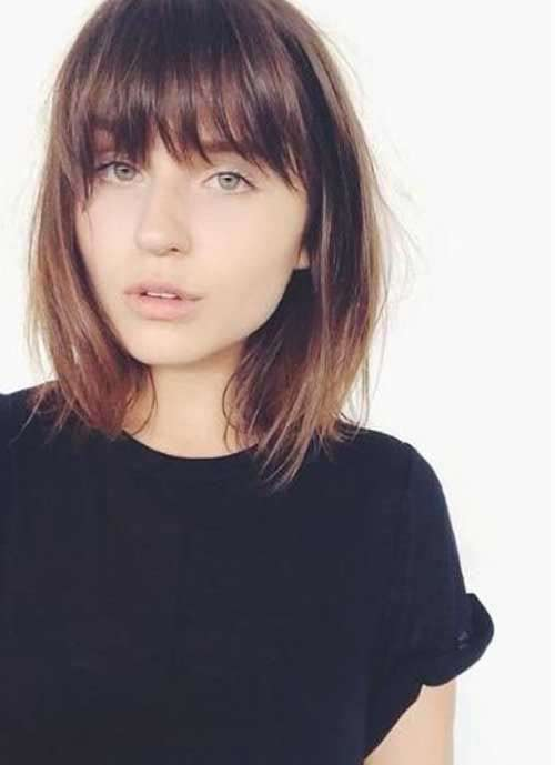 short bob with bangs short haircut and hairstyle 2017 2018 in india