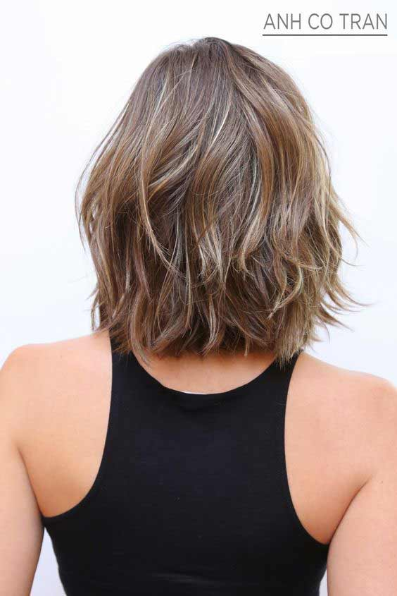 short layered bob short haircut and hairstyle 2017 2018